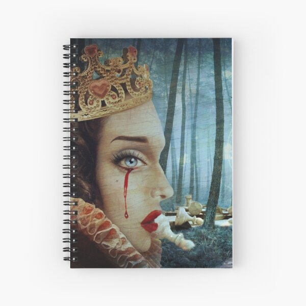 'Forest of Regrets' Spiral Notebook