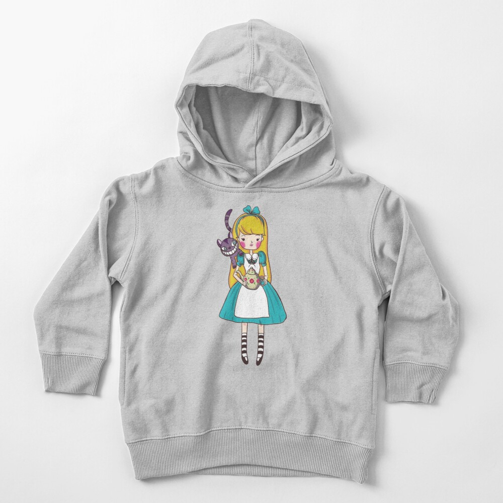 Alice in Wonderland Toddler Pullover Hoodie