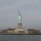 The Statue of Liberty by Irene Clarke