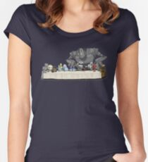 Robots Don't Need to Eat Women's Fitted Scoop T-Shirt