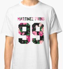 Martinez Twins - Colorful Flowers Classic T-Shirt