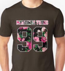 Martinez Twins - Colorful Flowers Unisex T-Shirt