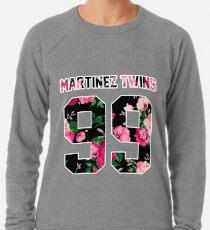 Martinez Zwillinge - bunte Blumen Leichtes Sweatshirt