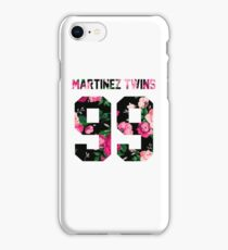 Martinez Twins - Colorful Flowers iPhone Case/Skin