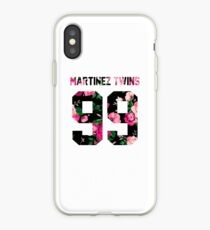 Martinez Twins - Colorful Flowers iPhone Case