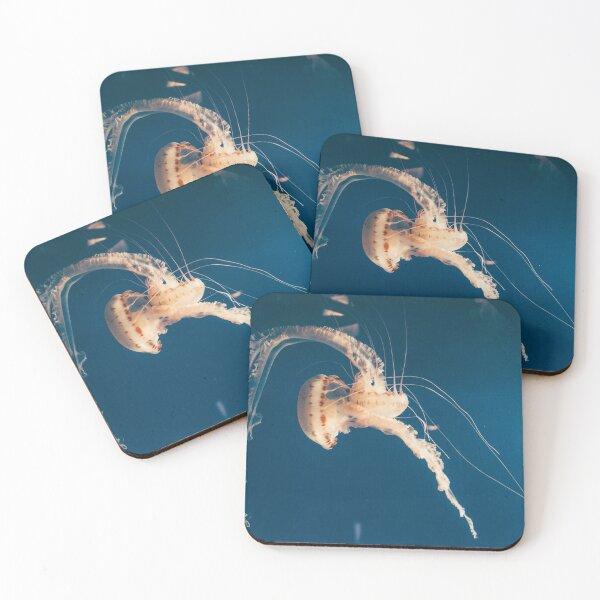 Dancing Jellyfish Coasters (Set of 4)