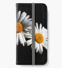 Twin Daisies  iPhone Wallet