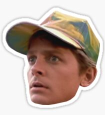 Back to the Future - Marty McFly Part II Head Sticker