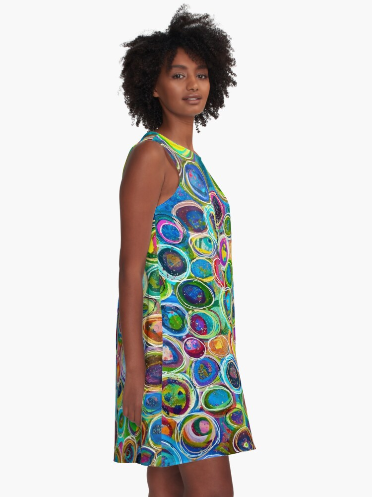 Alternate view of Discover Every Treasure In The World A-Line Dress