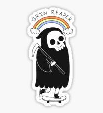 Grin Reaper Sticker