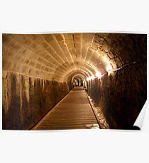The Templars Tunnel Acre Israel Poster