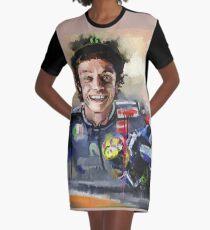 The true racer Graphic T-Shirt Dress