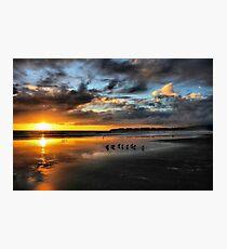 Sunset at Stinson Photographic Print