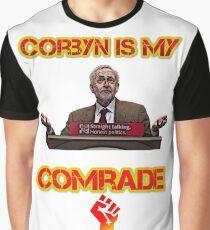 Jeremy Corbyn Socialist Graphic T-Shirt
