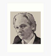 Julian Assange for Prime Minister of Australia Art Print