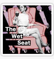 The Wet Seat Logo Sticker
