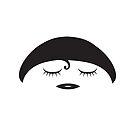 Lil Girlies - Noir Sur Blanc by Chromapit Designs