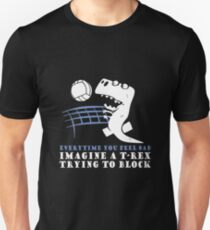 Imagine A T-Rex Trying To Block Shirt T-Shirt
