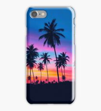 Tropical Palm Tree Sunset iPhone Case/Skin