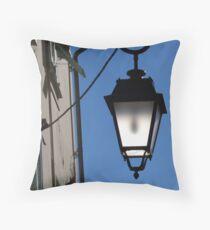 Lantern in the sky Throw Pillow