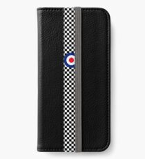 Classic Target Roundel Racing Checkers iPhone Wallet/Case/Skin