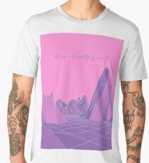 80s Vaporwave Retro Pink Men's Premium T-Shirt