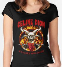 celine dion - my heart will go on Women's Fitted Scoop T-Shirt