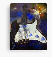 Heavy Metal Canvas Print