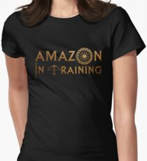 Amazon In Training Womens Fitted T-Shirt