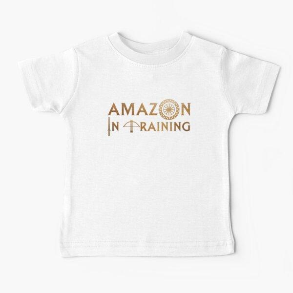 Amazon en entrenamiento Camiseta para bebés
