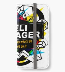 DELI MANAGER - NO BODY KNOWS iPhone Wallet/Case/Skin