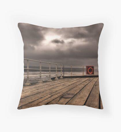 The Boardwalk Throw Pillow