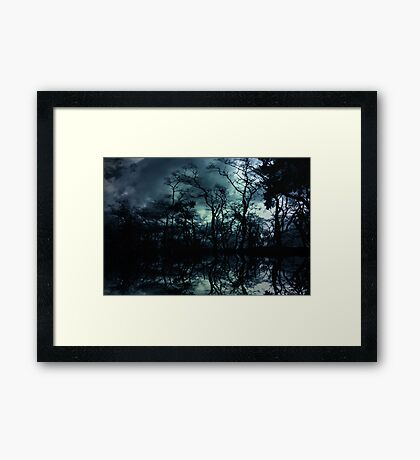 Forbidden Forest Framed Print