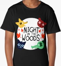 night in the woods Long T-Shirt