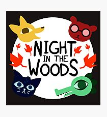 night in the woods Photographic Print