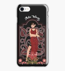 ADA WONG RESIDENT EVIL iPhone Case/Skin