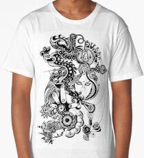 [ Geometry Flow ] Manipulate Long T-Shirt