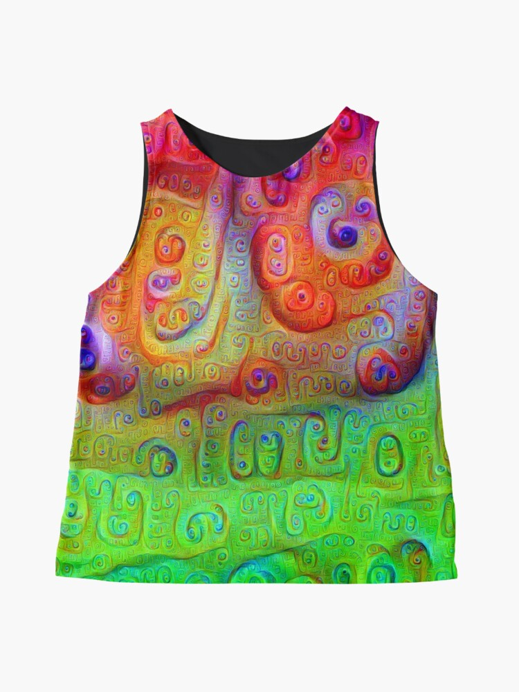 Alternate view of DeepDream Red to Green 5K Sleeveless Top