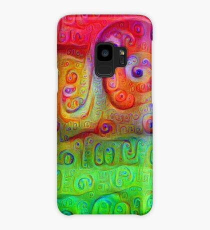 DeepDream Red to Green 5K Case/Skin for Samsung Galaxy