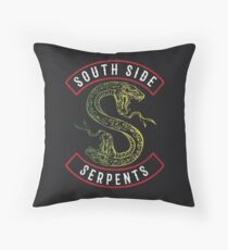 Riverdale South Side Serpents Throw Pillow