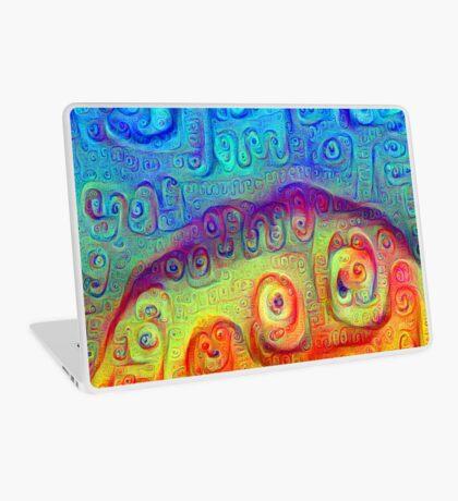 DeepDream Blue to Orange 5K Laptop Skin
