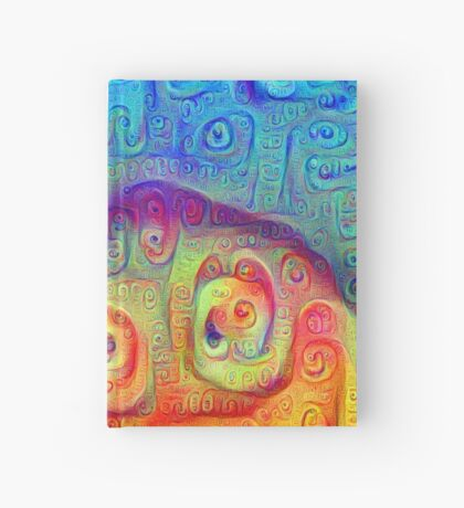 DeepDream Blue to Orange 5K Hardcover Journal