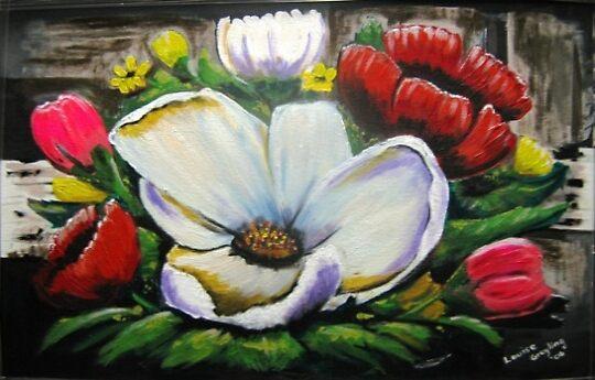 Flower Statement by Louise Henning