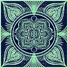 Mandala : Neon by danita clark