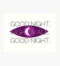 Good Night, Nightvale Art Print