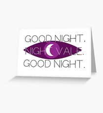 Good Night, Nightvale Greeting Card