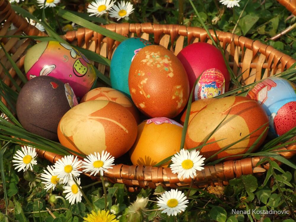 Easter eggs 2 by Nenad Kostadinovic