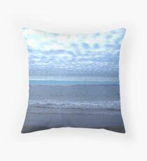 Bruny Beach Throw Pillow