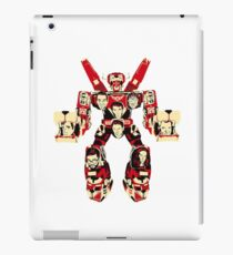 voltron robotic iPad Case/Skin