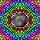 Mandala : Pop  by danita clark